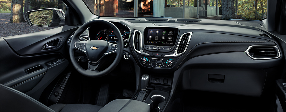 Safety features and interior of the 2019 Chevrolet Equinox - available at our Chevrolet dealership near Lafayette.