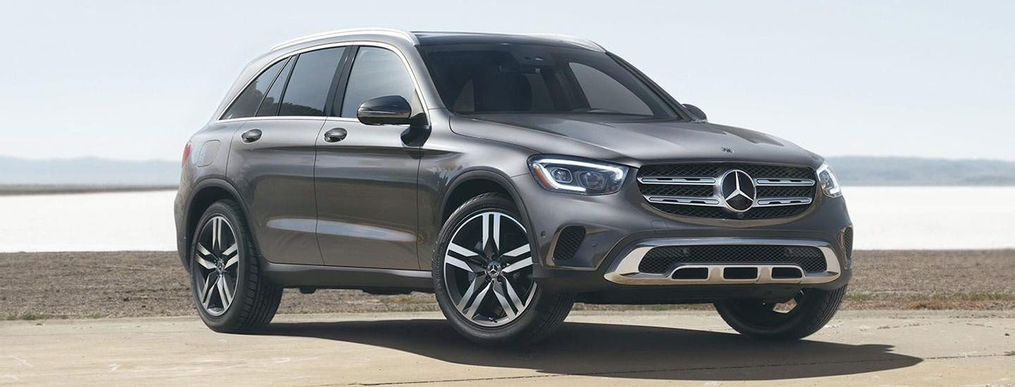 Passenger front view of the GLC