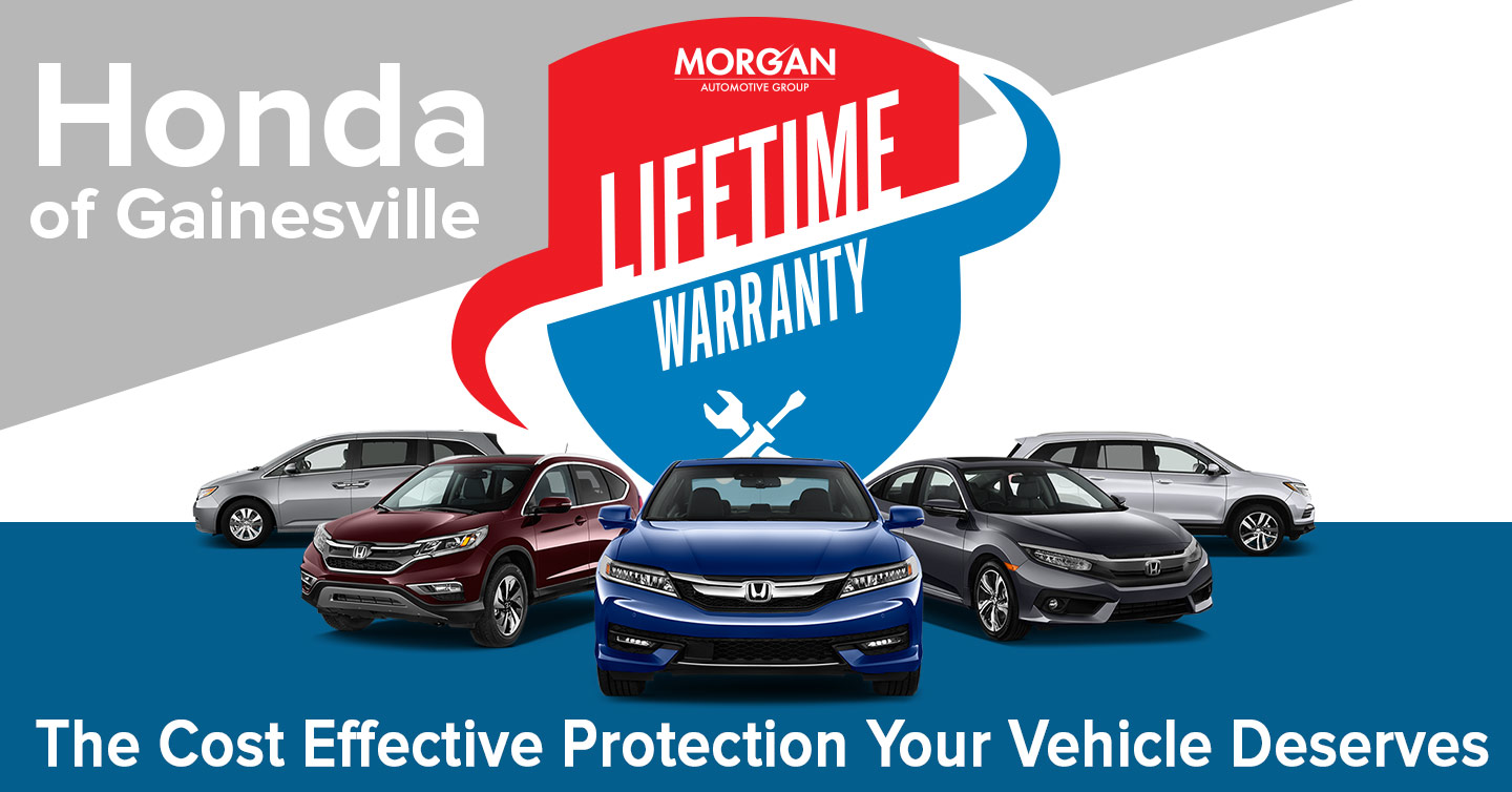 Honda Of Gainesville >> Honda Of Gainesville Lifetime Warranty Gainesville Fl
