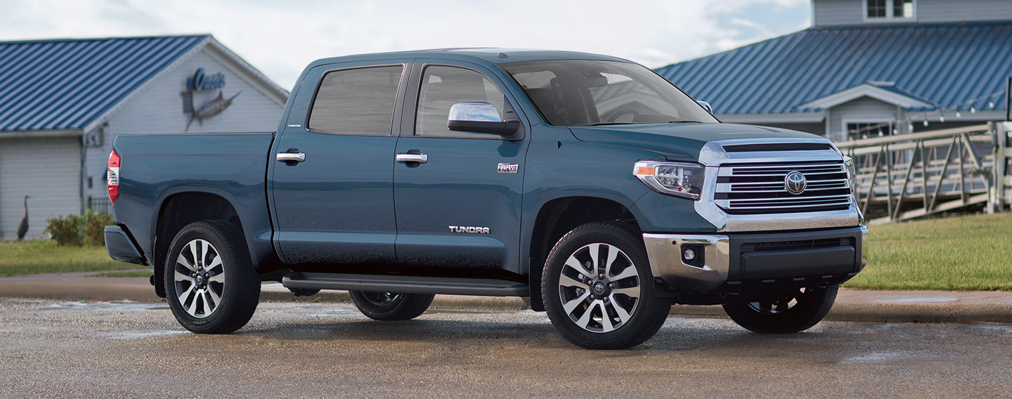 Picture of the Exterior of the 2019 Toyota Tundra for sale at our Toyota dealership in Lake City.