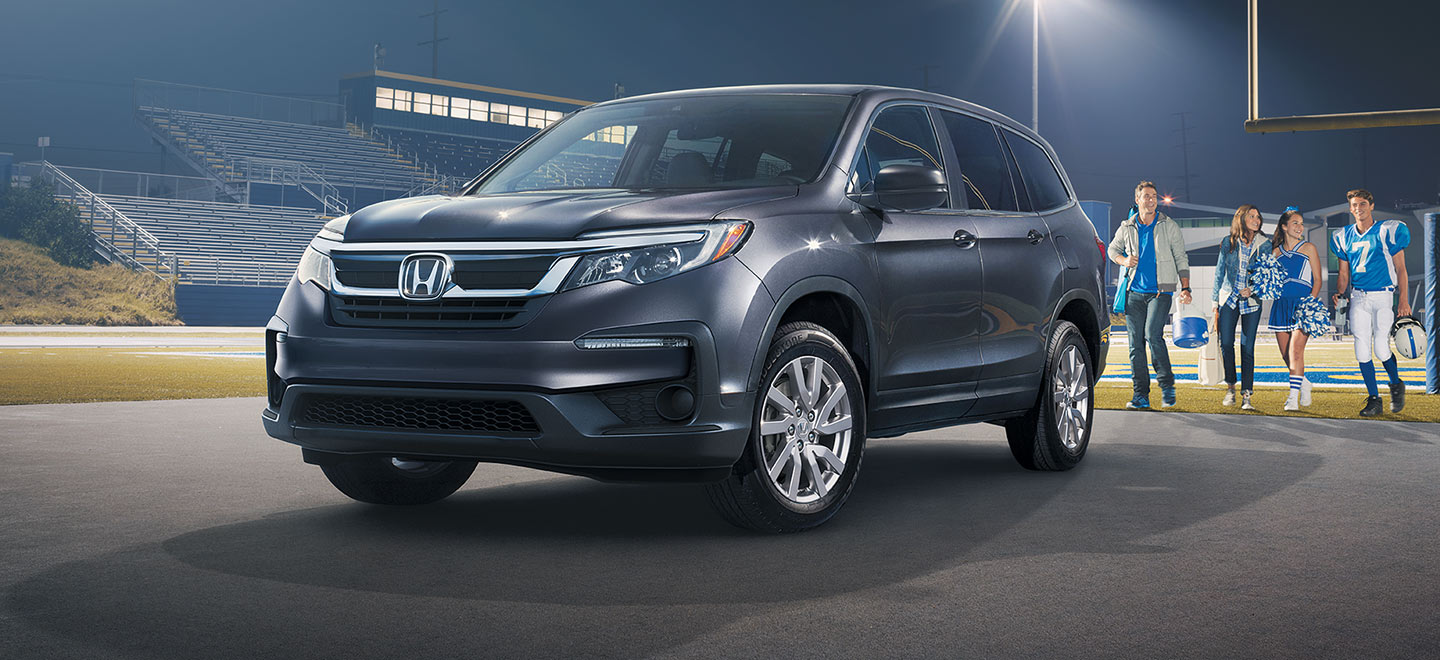 The 2019 Honda Pilot is available at our Honda Dealership in Miami, FL.