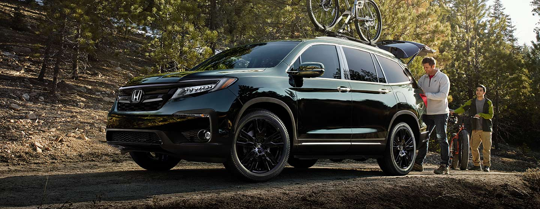 2019 Honda Pilot Exterior - Side View - Parked outdoors.