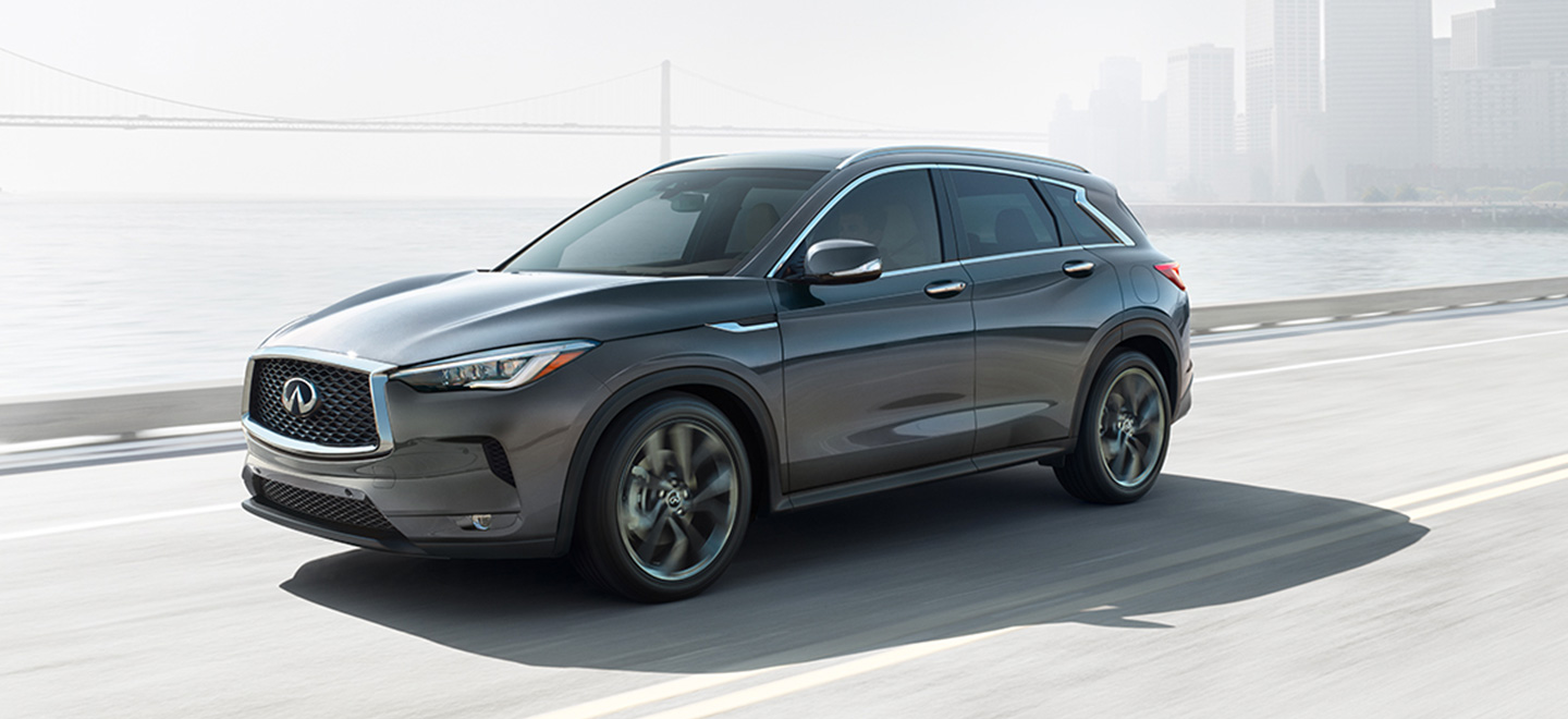 The 2019 INFINITI QX50 is available at our INFINITI dealership in Miami, FL.
