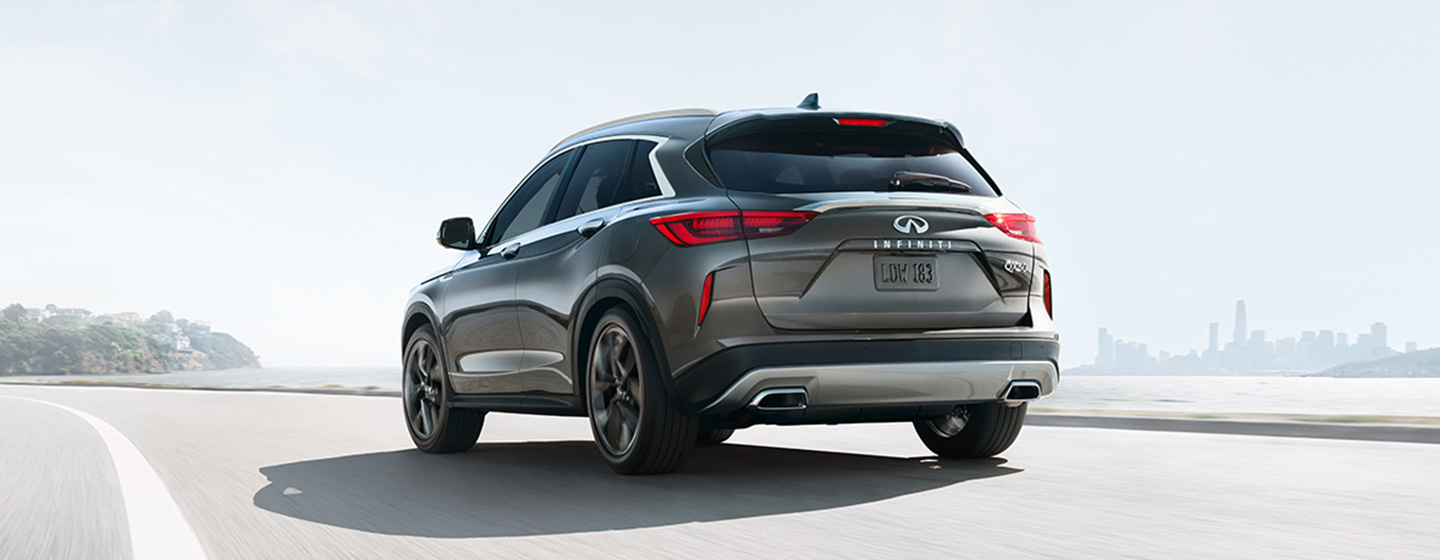 INFINITI QX50 Exterior - Side View - Driving