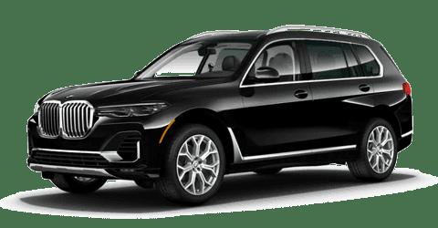 Black 2021 BMW X7 xDrive40i