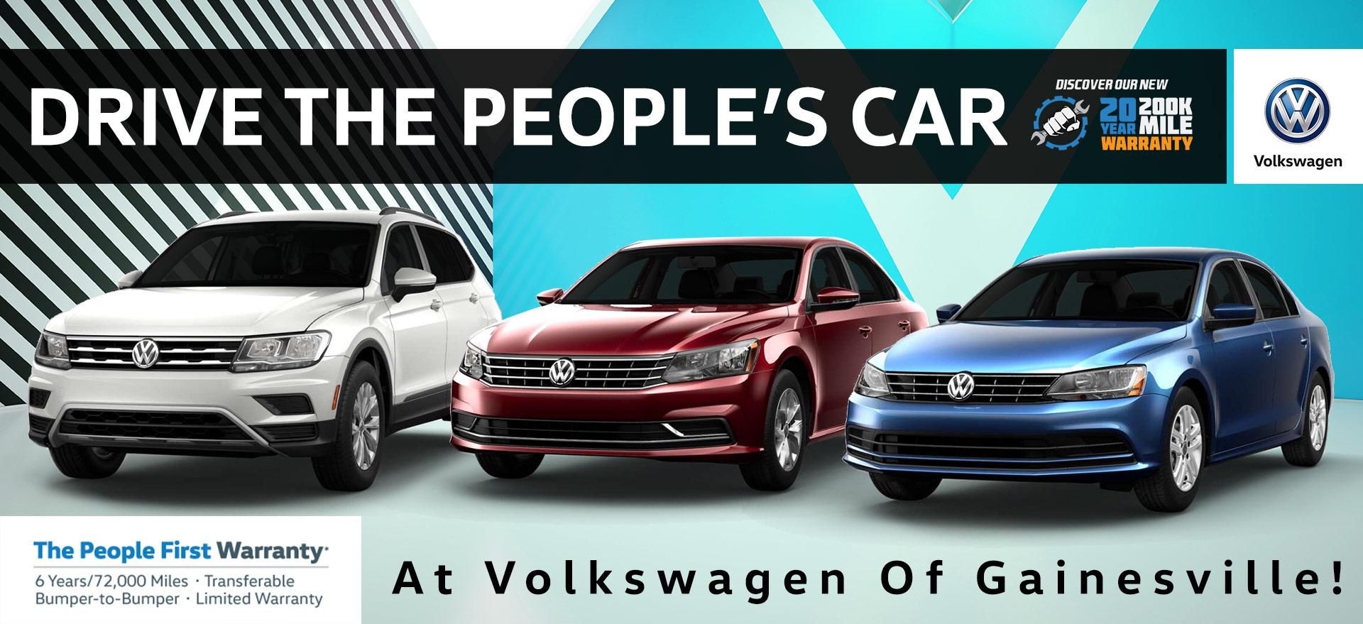 Save Green This Month! | Volkswagen of Gainesville