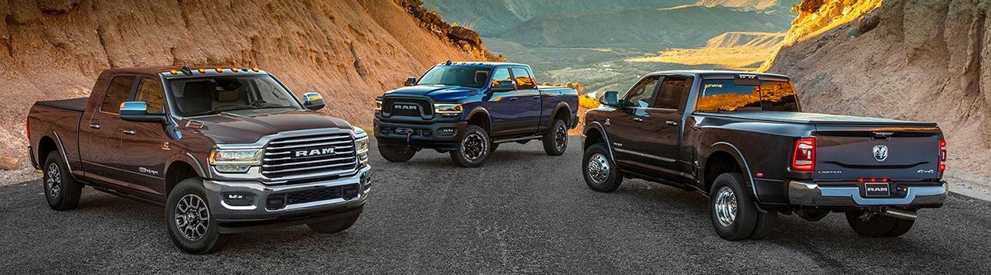 2020 RAM 2500 for sale at Spitzer Ram dealer in Mansfield Ohio