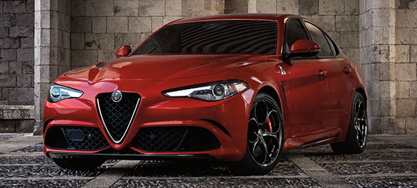 New 2017 Giulia Quadrifolio Model