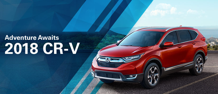 The 2018 Honda CR-V is available at Neil Huffman Honda in Clarksville, IN