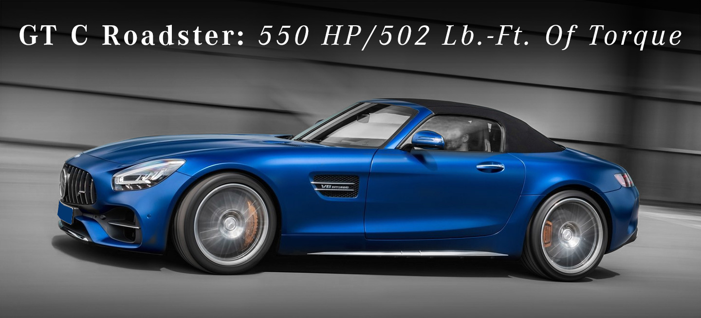 GT C Roadster: 550 HP/502 Lb.-Ft. Of Torque