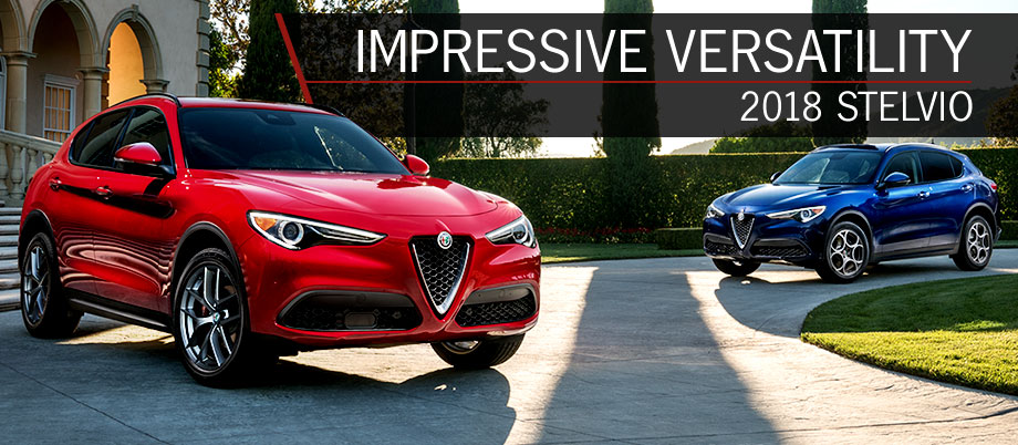 The 2018 Alfa Romeo Stelvio is available at Alfa Romeo Hawaii in Honolulu, HI