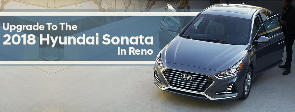 The Hyundai Sonata in Reno, NV at Lithia Hyundai of Reno.