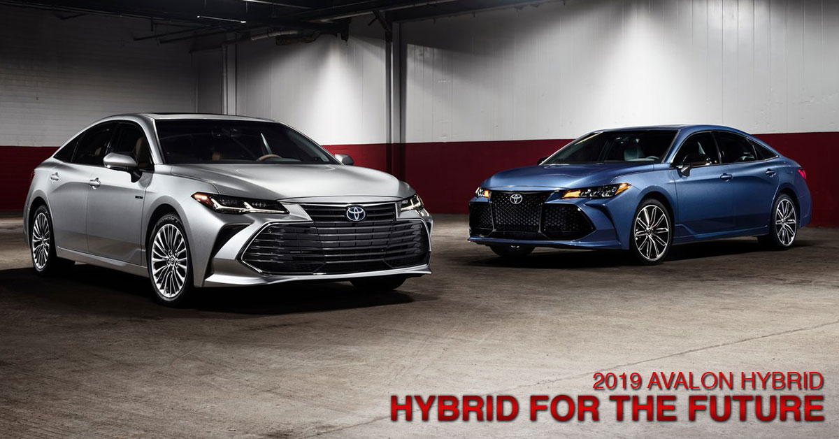 Image of the 2019 Toyota Avalon Hybrid available at Lipton Toyota near Fort Lauderdale, FL