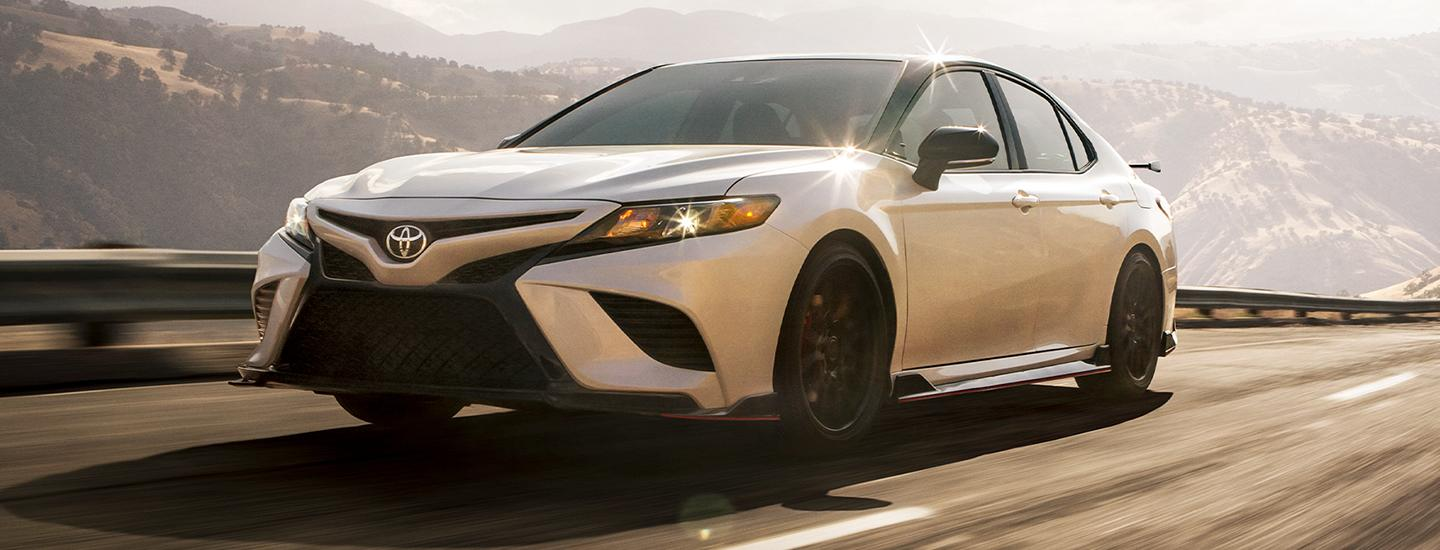 2020 Toyota Camry in motion