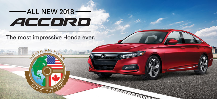 North American Car Of The Year - Accord vehicle