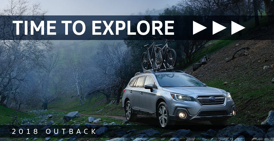The 2018 Subaru Outback is available at Neil Huffman Subaru in Louisville, KY