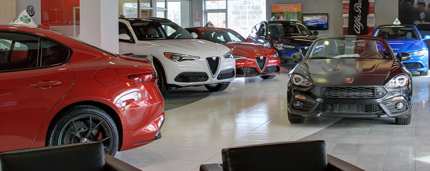 Auto financing at our Alfa Romeo dealership in Dublin, OH