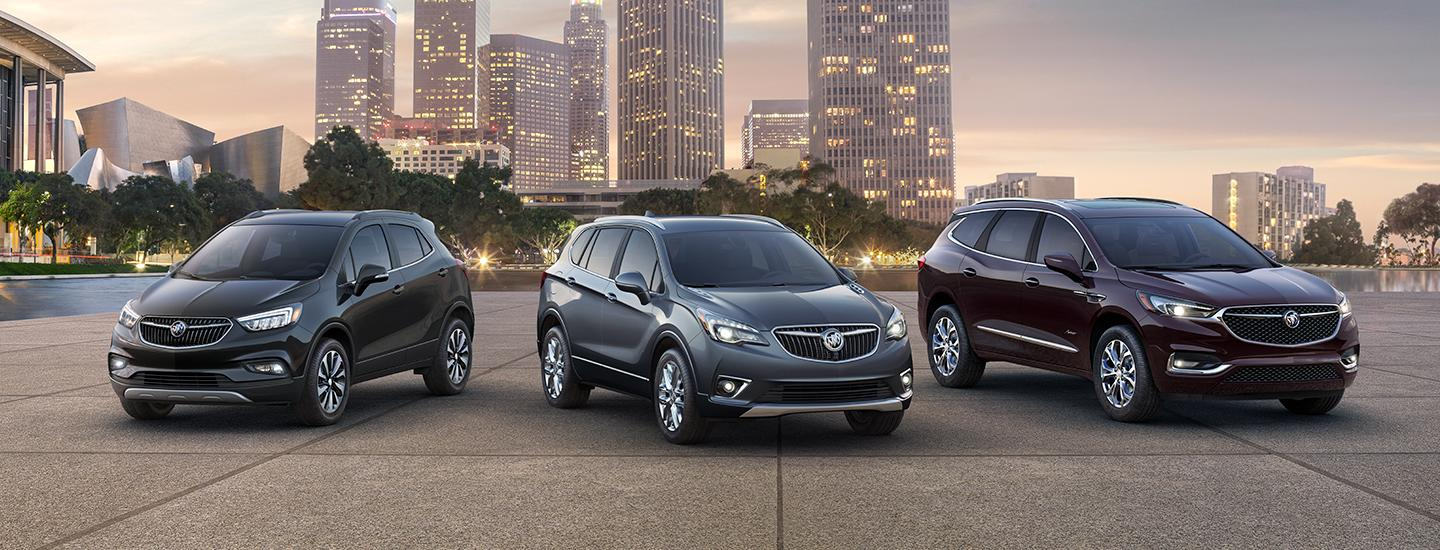 2020 Buick Crossover Suv Comparison Features