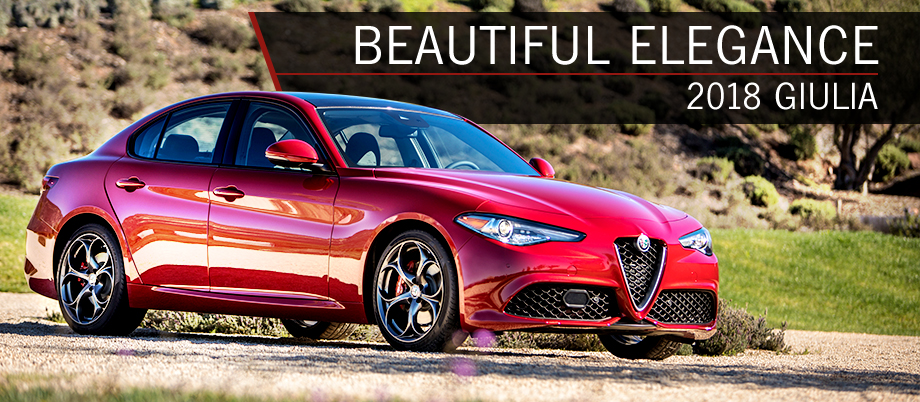 The 2018 Alfa Romeo Giulia is available at Alfa Romeo Hawaii in Honolulu, HI