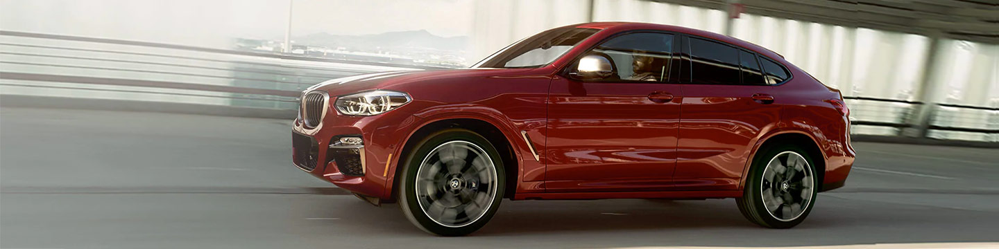 Get Your 2019 BMW X4 Today