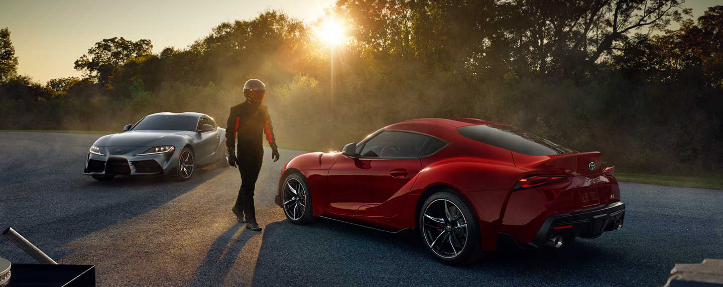 The 2020 Toyota Supra is for sale at our Toyota dealership in Tampa.
