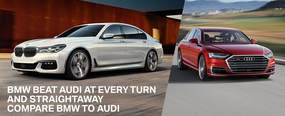 Compare BMW and Audi at BMW of Sarasota, Sarasota, Bradenton, Venice