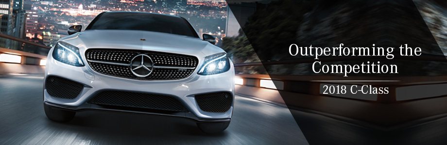 The 2018 C-Class is available at Mercedes-Benz of Augusta in Augusta, GA
