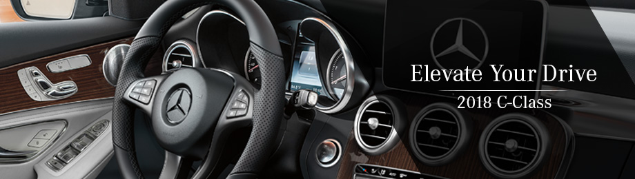 Safety features and interior of the 2018 C-Class - available at Mercedes-Benz of Augusta near Augusta, GA and Evans, GA