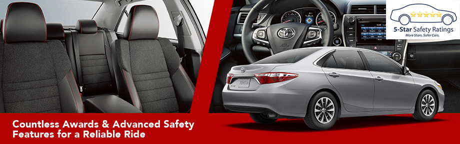 Interior and Safety Features of the 2017 Camry at Lipton Toyota in Fort Lauderdale, FL