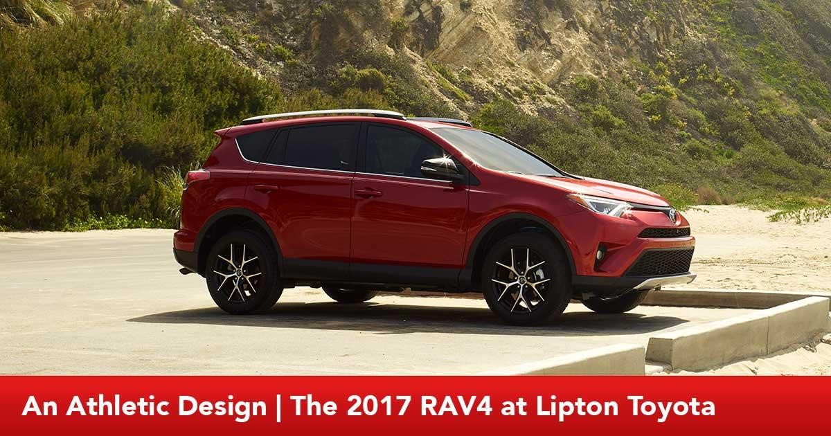Exterior of the new RAV4 at Lipton Toyota serving Pompano Beach and Hollywood, FL
