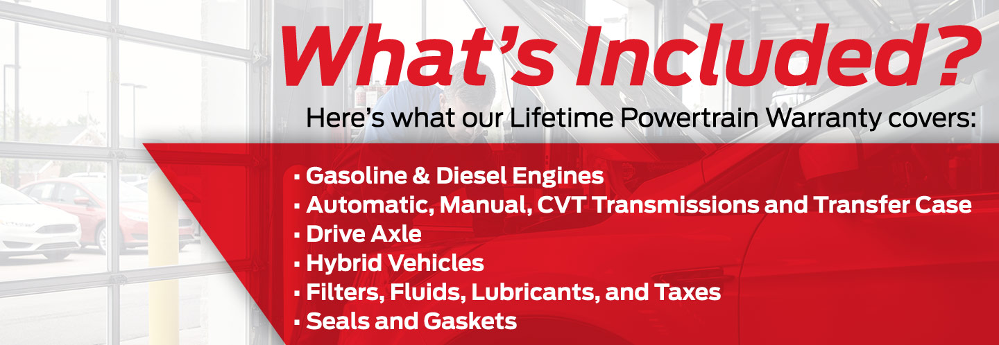 How the Lifetime Powertrain Warranty Works