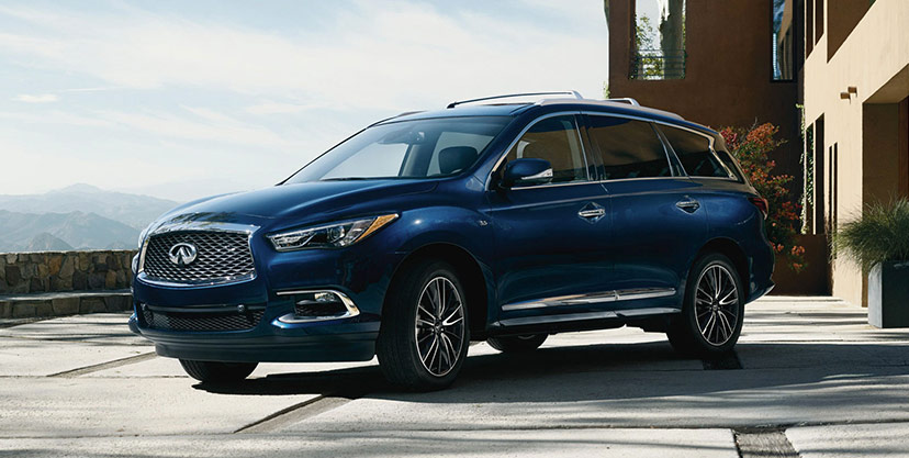 2019 QX60 compared to Acura MDX, Lexus RX 350 and Audi Q5, room, Zeigler INFINITI of Orland Park, IL