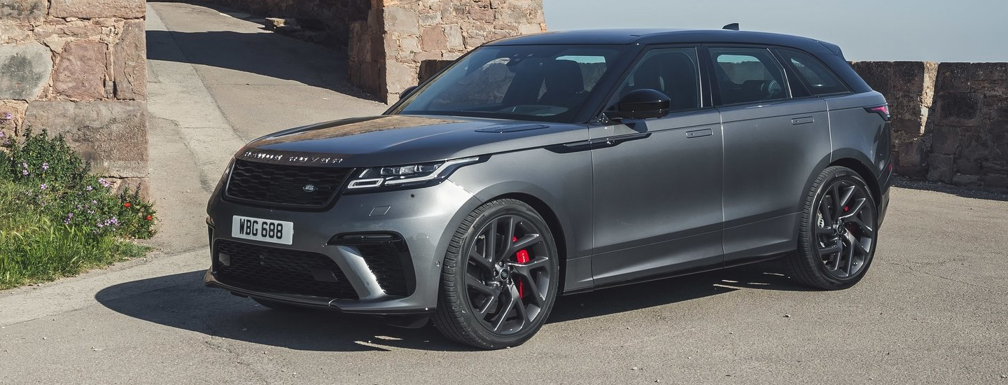 2020 Land Rover Range Rover parked outside