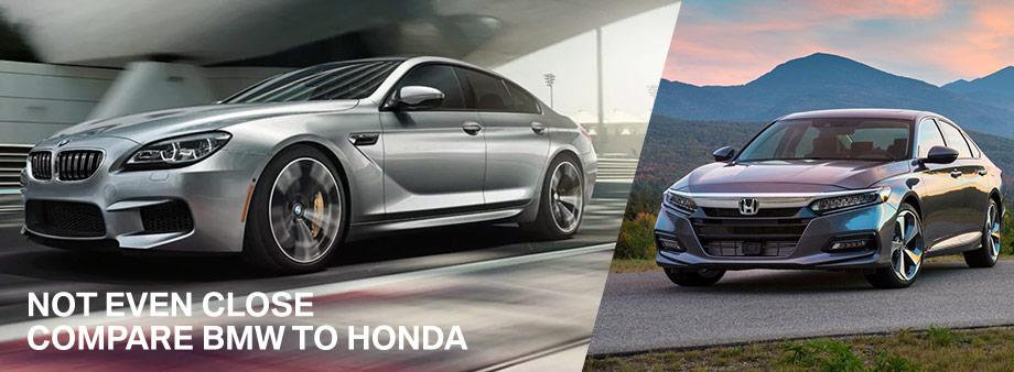 Compare Bmw To Honda In Sarasota Fl Bmw Of Sarasota