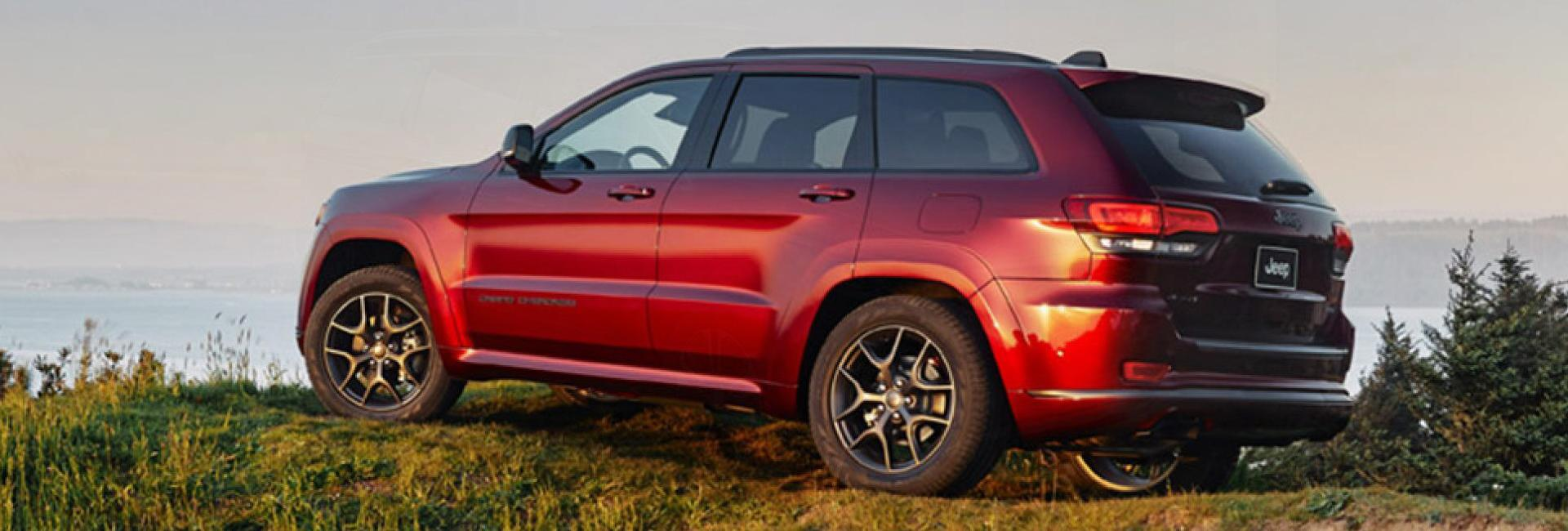 Picture of the 2020 Jeep Grand Cherokee for sale Homestead FL.