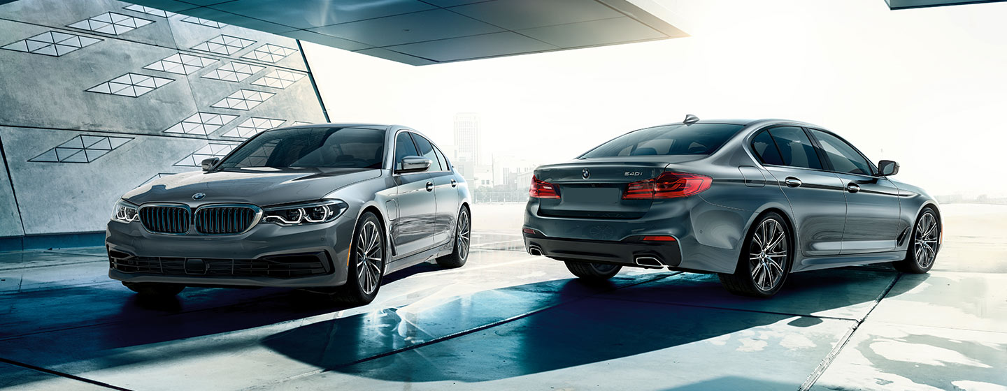 2019 BMW 5 Series parked