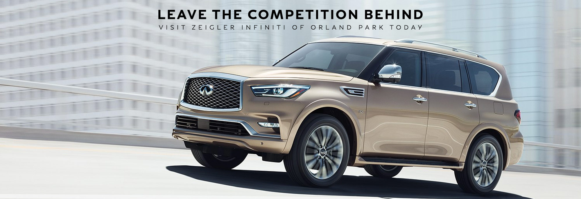 INFINITI DEALER QX80 VS MERCEDES-BENZ GLS450, CADILLAC ESCALADE AND LEXUS LX 570