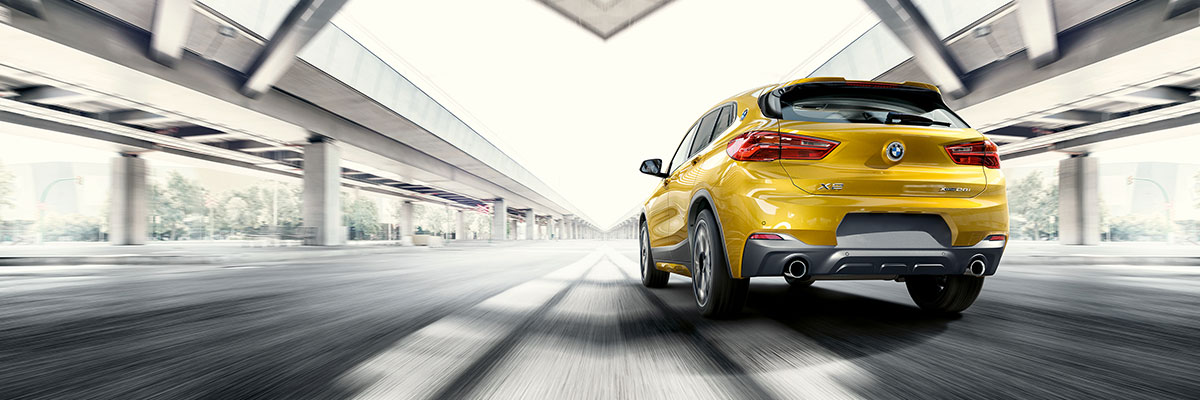 Exterior of the BMW X2 at Hilton Head BMW near Savannah, GA