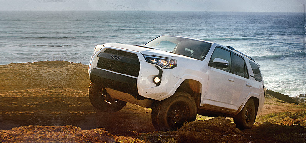 Exterior of the 2018 Toyota 4Runner at Lipton Toyota near Hollywood