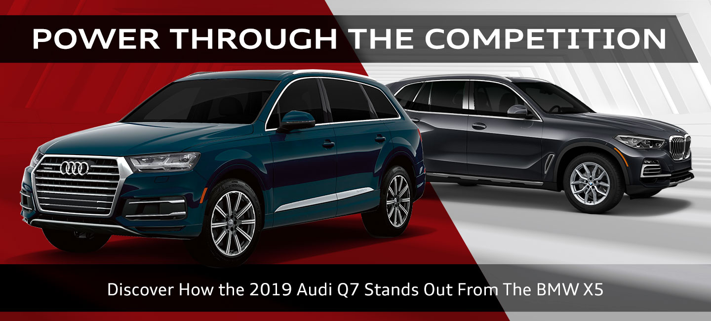2019 AUDI Q7 COMPARISON COMPETITION OKLAHOMA CITY EDMOND NORMAN OK