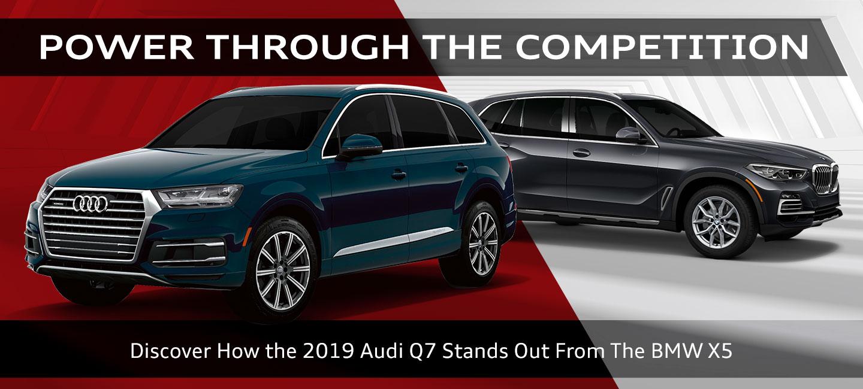 2019 Audi Q7 Vs 2019 Bmw X5 Audi Oklahoma City