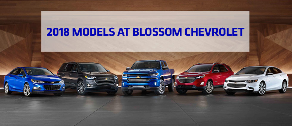 2018 Chevrolet Models At Blossom Chevrolet In Indianapolis In