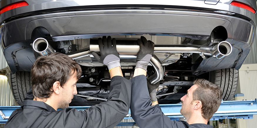 Auto part installation and service available at our CDJR dealership in Bonita Springs, FL.