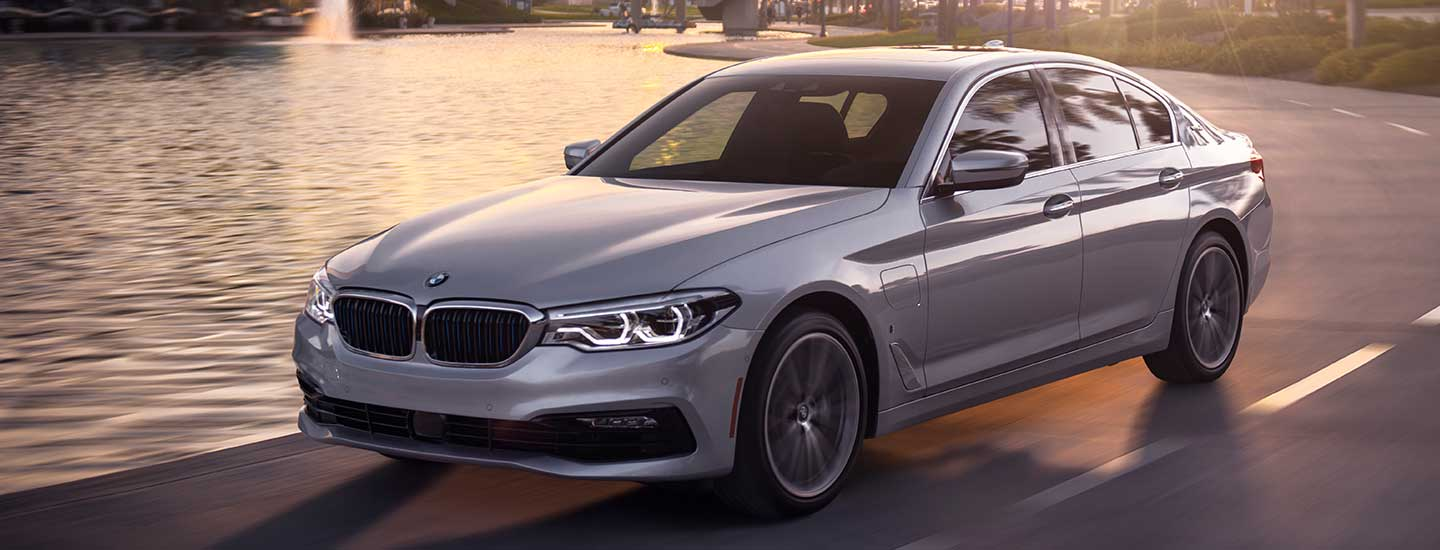 2019 BMW 5 Series in motion