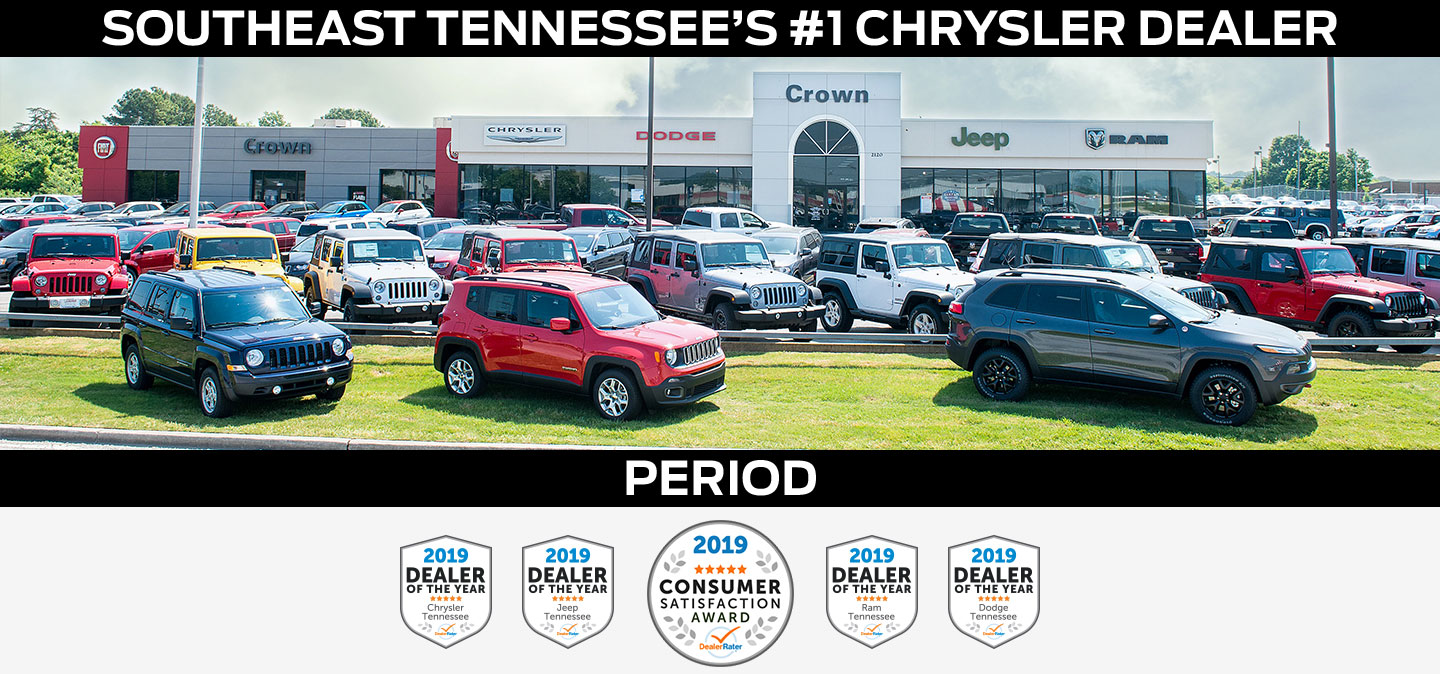 We're Southeast Tennessee's #1 Chrysler Dealer