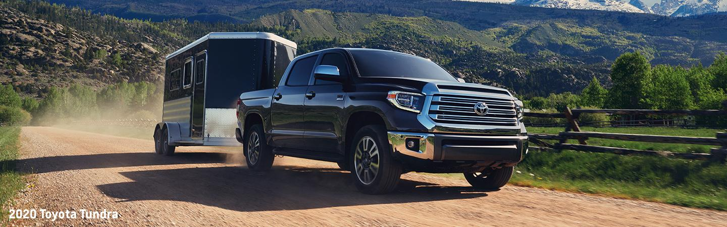 2020 Toyota Tundra towing