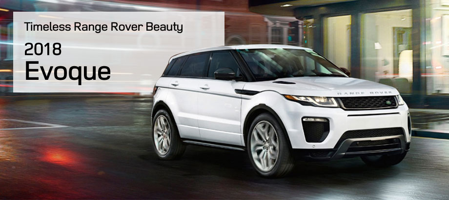 The 2018 Range Rover Evoque is available at Land Rover Honolulu on O'ahu, HI