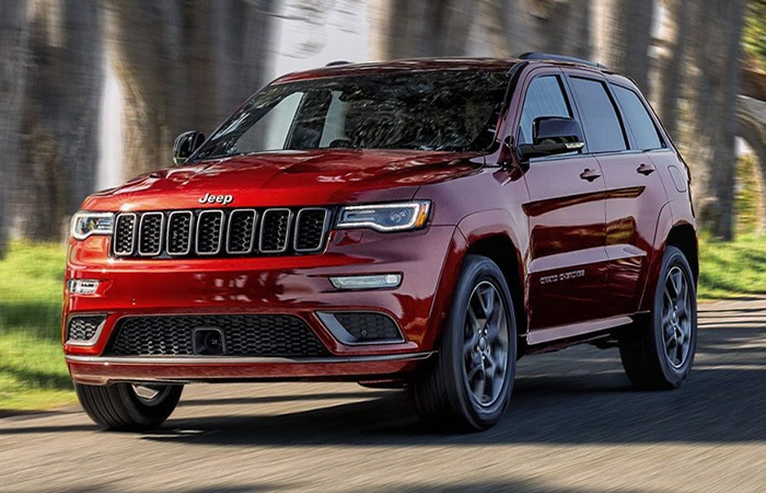 Picture of the 2020 Jeep Grand Cherokee