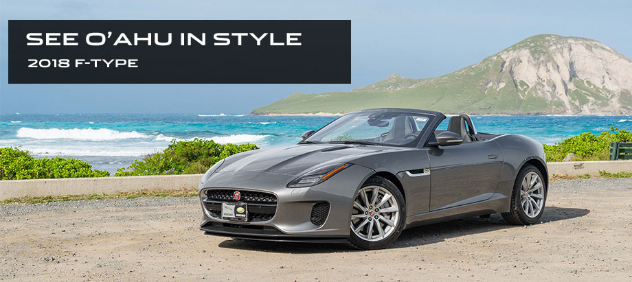 The 2018 Jaguar F-TYPE is available at Jaguar Honolulu in Honolulu, HI
