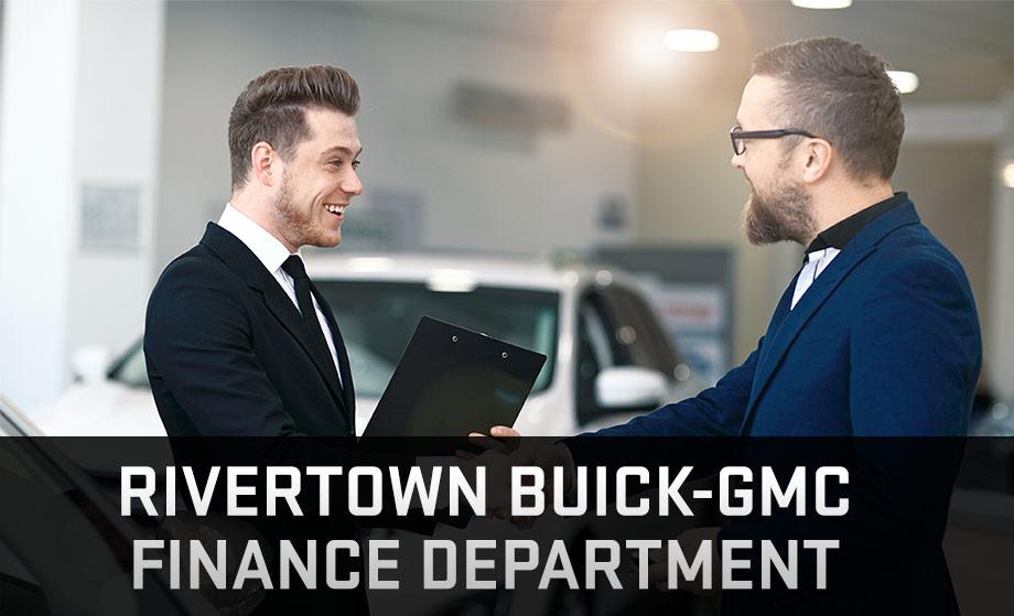 The Rivertown Buick-GMC Finance Department in Columbus, GA